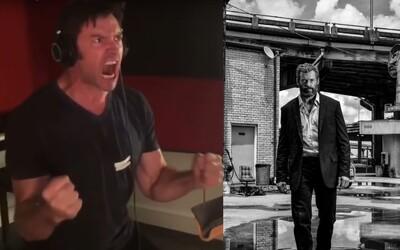 Logan dorazí na Blu-ray v čierno-bielej verzii! Hugh Jackman navyše ukázal, ako nahrával zvuky a Wolverinovo besnenie v lese