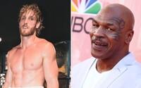Logan Paul si troufá na Mikea Tysona. Je příliš starý, tvrdí