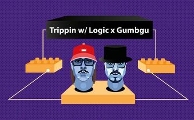 Logic a Gumbgu pokrstia album Gudlak v Klube Dole v rámci série Trippin