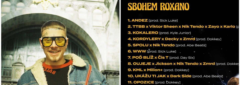 Logic má na albu Sbohem Roxano Čistychova, Zaya i všechny kolegy z Milion+