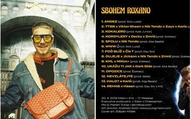 Logic má na albume Sbohem Roxano Čistychova, Zaya aj všetkých kolegov z Milion Plus