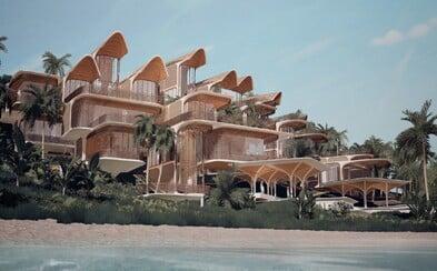 Lokální dodavatelé a udržitelné materiály. Zaha Hadid Architects představují futuristický komplex v Karibiku