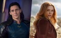 Loki a Scarlet Witch zazáří ve vlastních seriálech od Marvelu