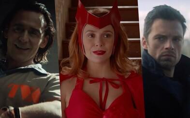 Loki, WandaVision a Falcon s Winter Soldierem: Marvel se v upoutávce pyšní svými seriálovými hity