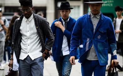 Londýn ovládla pánska móda alebo výber tých najlepších Street Style záberov počas LCM Jar/Leto 2016 #2