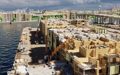 Los Angeles v měřítku 1:1 v Minecraftu. Více než 400 hráčů ho buduje už 9 let a zdaleka nejsou ani v polovině