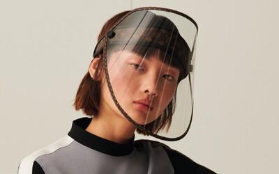 Louis Vuitton predstavuje ochranný štít za približne 800 eur. Dokáže však zabrániť nákaze?