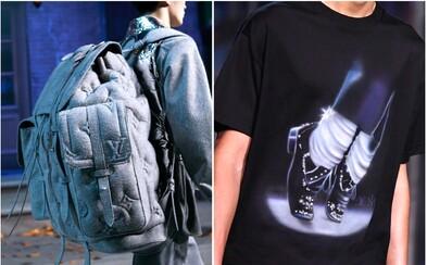 Louis Vuitton přichází s batohem za 226 tisíc. Krom toho přestává vyrábět kousky s Michaelem Jacksonem