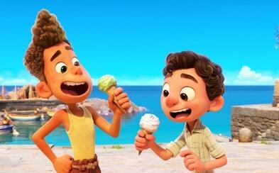 Luca je pixarovský animák odehrávající se na slunné italské pláži. V krásném traileru se hlavní hrdina mění ve vodní bytost