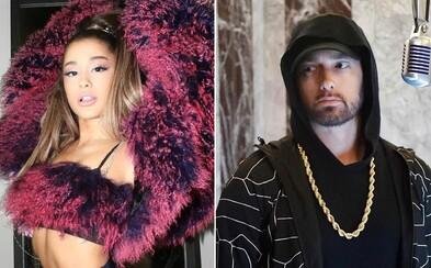 Lidé Eminema kritizují za text o teroristickém útoku během koncertu Ariany Grande v Manchesteru, kde zahynulo 22 lidí
