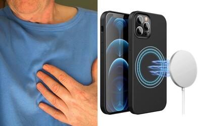 Ľudia s kardiostimulátorom by mali byť pri používaní iPhone 12 opatrní. Počas výskumu ho po priložení na hruď dokázal zastaviť