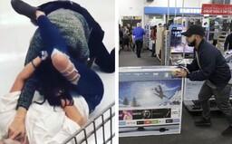 Lidé se na Black Friday absolutně zbláznili, v New Jersey se dokonce střílelo