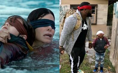 Ľudia si po zhliadnutí hororu Bird Box zakrývajú oči a plnia rôzne výzvy. Netflix ich prosí, aby si dávali pozor