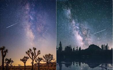 Ľudia si v noci vychutnávali krásu Perzeidov. Toto sú najlepšie fotografie vesmírneho divadla z celého sveta