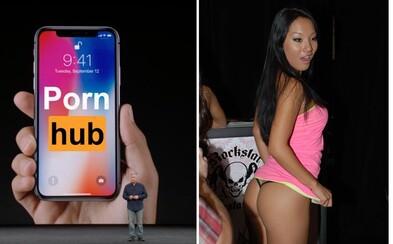 Lidé vyměnili porno za nový iPhone X. Pornhub zaznamenal během prezentace Applu zemětřesení návštěvnosti