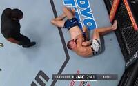 Ľudovít Klein prehral na poli UFC druhý zápas v rade. Súper ho prinútil vzdať sa
