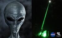 Ľudstvo by mohlo mimozemšťanov prilákať silným laserom. Keby si ho všimli, hneď by nás identifikovali