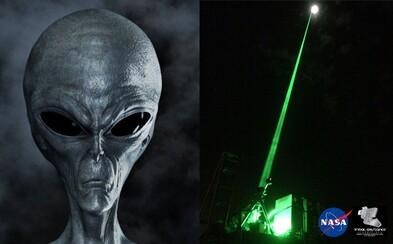 Lidstvo by mohlo mimozemšťany přilákat silným laserem. Kdyby si ho všimli, hned by nás identifikovali