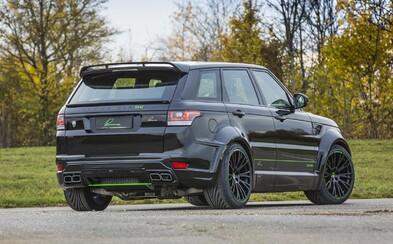 Lumma Design zachádza s úpravou Range Roveru Sport ešte ďalej, CLR SV má až 680 koní!