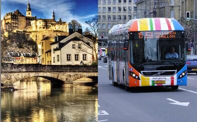Luxembursko zavedie bezplatnú verejnú dopravu ako prvý štát na svete