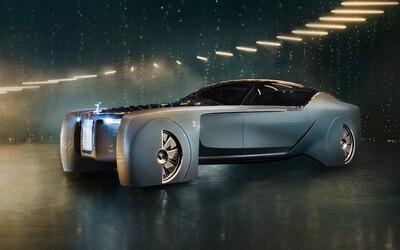 Luxus aj moderné technológie. Rolls-Royce ukázalo, ako si predstavuje budúcnosť autonómnych vozidiel