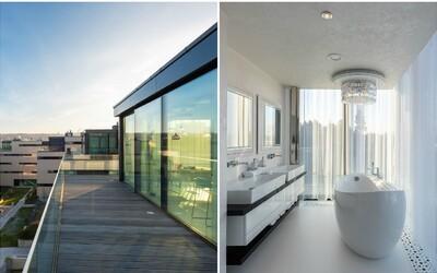 Luxus jako v Dubaji, ale s výhledem na krásy Prahy