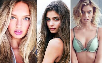 Luxusní značka spodního prádla Victoria's Secret má 10 nových andílků. Pokochejte se pohledem na tyto krásky