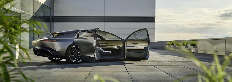 Luxusné Audi Grandsphere dokáže úplne samo šoférovať a identifikovať majiteľa podľa jeho chôdze