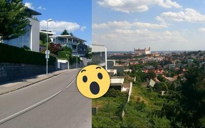 Luxusné autá, bazény a za meter štvorcový aj 1 300 €. Toto sú najbohatšie štvrte Bratislavy, kde sa ľudia naozaj nemajú zle