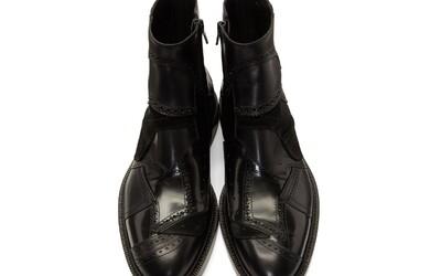 Luxusný módny dom Maison Margiela prichádza so záplatovými topánkami z rôznych kúskov kože za nekresťanské peniaze