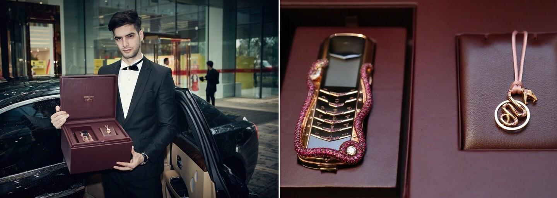 Luxusný telefón za viac ako 300-tisíc eur. Limitovaná edícia od Vertu má len pár kusov a kuriéra na helikoptére