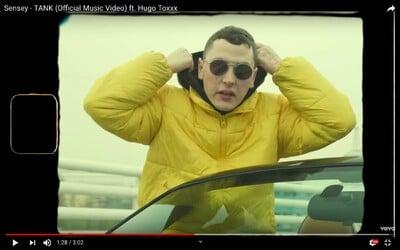 Lvcas Dope je buzerant, rapuje v novém klipu Sensey s Hugo Toxxxem