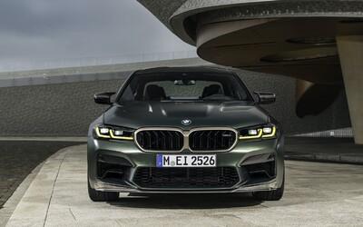 M5 CS s cenovkou 4,7 milionu korun je nejvýkonnějším a nejrychlejším BMW historie