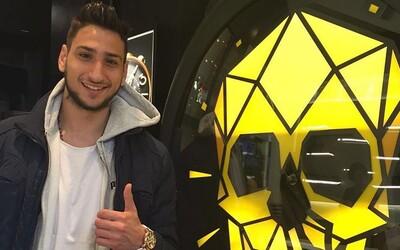 Má 17 let a milion eur ročně. Mladý Ital si žije svůj brankářský sen v klubu AC Milán