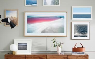 Má drevený rámik a aj umelecký režim. Samsung vyrobil televízor, ktorý nerozoznáš od obyčajného obrazu