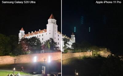 Má ještě smysl řešit, který top smartphone nabízí lepší fotoaparát? Porovnali jsme Samsung Galaxy S20 Ultra a Apple iPhone 11 Pro