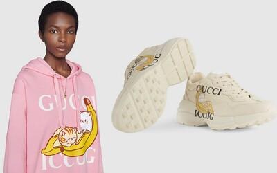 Mačka v banáne od značky Gucci. Spolupráca módneho domu a streamovacej spoločnosti Crunchyroll, ktorá ťa dostane