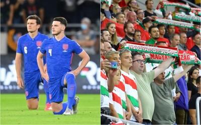 Maďari nemôžu prísť na futbal, lebo sa správali rasisticky. Hromadne vybučali Angličanov, ktorí pokľakli z rešpektu k menšinám