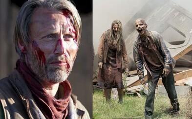 Mads Mikkelsen by si rád zahral v The Walking Dead, pretože ho láka predstava odsekávania hláv mŕtvym ľuďom