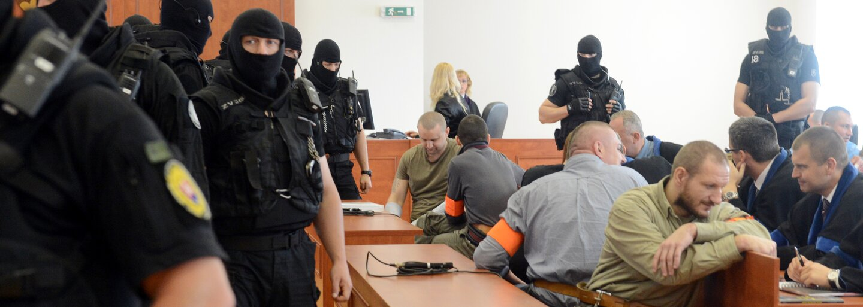 """Mafiána Juraja """"Piťa"""" Ondrejčáka muselo na súd dostať 350 policajtov. Zbraňový arzenál mohli gangu závidieť všetci konkurenti"""