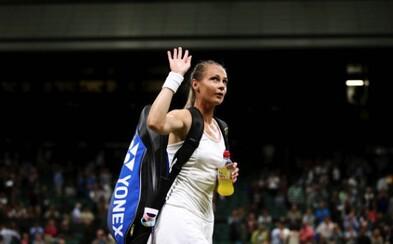 Magdaléna Rybáriková sa po fantastických výkonoch lúči s Wimbledonom. Nová nádej Slovenska v tenisovom svete nestačila na španielku Muguruzu