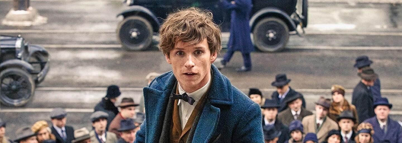Magické bytosti z kouzelnického světa Harryho Pottera se předvádí v senzačních ukázkách pro Fantastická zvířata a kde je najít