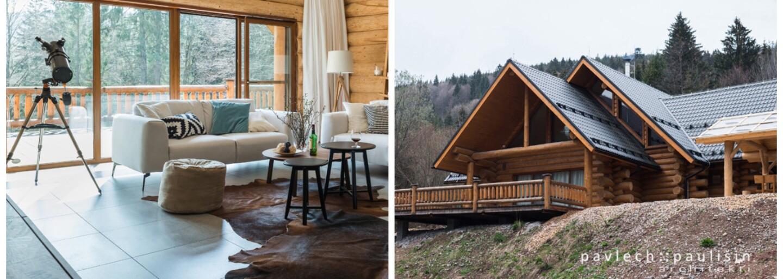 Majestátna horská chata na Táloch, ktorej interiér plný dreva a útulného zariadenia si zamilujete