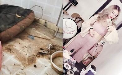 Majitelka bytu odhalila dvojí život influencerky z Číny. Ukázala, v jakém nepořádku žije dívka s milionem followerů