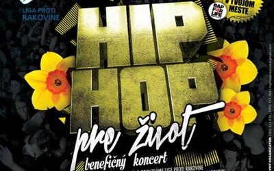 Majk Spirit, Strapo, Supa a iní zahrajú Hip Hop pre Život