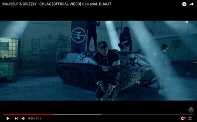 Majself má vo videoklipe vojenské vozidlá aj zbrane. Vypočuj si novinku Chlad a očakávaj album