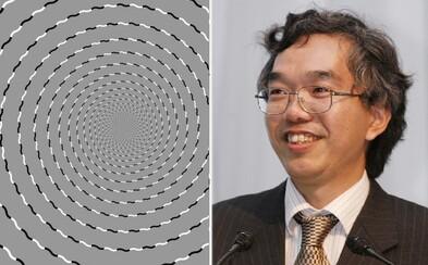 Majster optických trikov nás prišiel zmiasť ďalším kúzlom. Ako vidíš čiernobiely tvar ty?