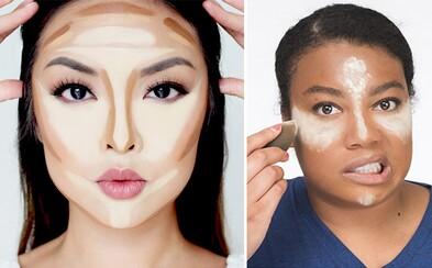 Make-up slang ve zkratce. Jsou ti známé pojmy jako strobing, blending či contouring?