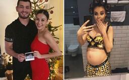 Makhmud Muradov a Monika Bagárová budou mít holčičku! Zpěvačka o tom informovala na Instagramu