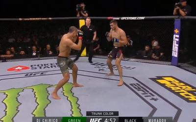 Makhmud Muradov zvítězil ve svém 1. zápase v UFC!